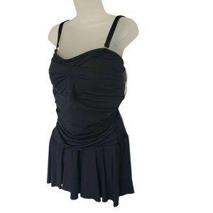 Lauren Ralph Lauren Womens Plus Size Swimsuit